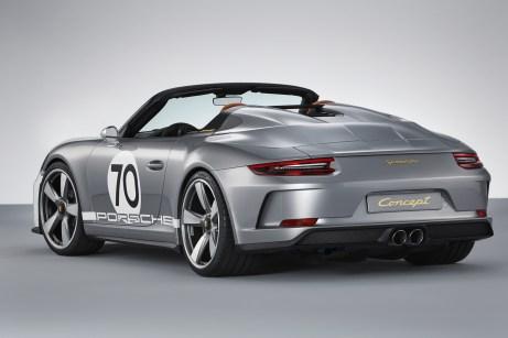 Über eine Serienfertigung der Speedster-Studie wird in den nächsten Monaten entschieden. © Porsche