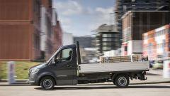 Mit mehr als 1700 verschiedenen Varianten ist der neue Sprinter jeder Transportanforderung gewachsen. Foto: Mercedes