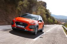 Frischer Wind bei den kompakten SUV: Der Hyundai Kona ist ein bunter Hingucker. © Hyundai