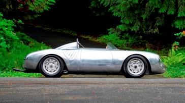Ein echter Oldtimer aus Deutschland, ein Porsche 550 A Spyder. Er soll zwischen 4,5 Millionen und 5 Millionen Dollar bringen (3,9 Millionen / 4,3 Millionen Euro). Foto: Auto-Medienportal.Net/Mecum