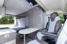 Alle Möbel sind dank des patentierten Flexebu Clip-Systems problemlos herausnehmbar. Foto: Citroën