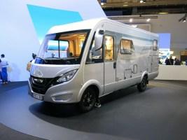 ymermobil zeigt den Modern Comfort, als integriertes und teilintegriertes Reisemobil, bei dem ein Sprinter-Triebkopf mit eigenem Chassis kombiniert wird. Foto: Auto-Medienportal.Net/Michael Kirchberger