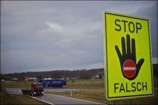 Unfälle mit Falschfahrern sind für jeden Autofahrer ein Albtraum. © ADAC