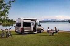 Der Grand California - perfektes Basislager um die Natur zu genießen. Foto: VW