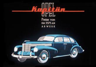 Der Opel Kapitän aus dem Jahre 1938. Foto: Auto-Medienportal.Net/Opel