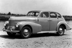 Opel Kapitaen 1948-50. Foto: Auto-Medienportal.Net/Opel