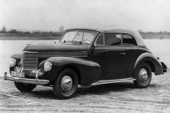 Opel Kapitänn Convertible, 1938-40. Foto: Auto-Medienportal.Net/Opel