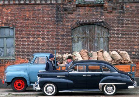 Opel Kapitän Baujahr 1952. Foto: Auto-Medienportal.Net/Opel