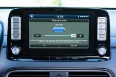 Über den Ladezustand der Batterie immer auf dem Laufenden durch das Display im Cockpit. © Hyundai