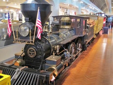 The President hieß die Lokomotive, mit der US-Präsident Herbert Hoover am 21. Oktober 1929 zur Museums-Eröffnung kam.