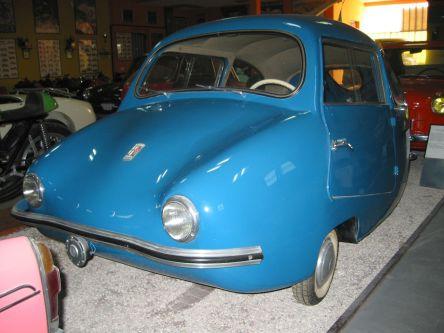 Den kennen wohl die wenigsten noch: das Fuldamobil aus den Jahren 1954/1955. Foto: Wikipedia