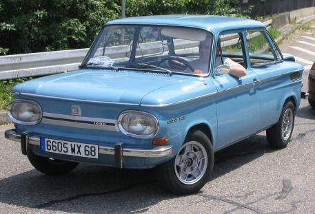 Der NSU Prinz 1000, 1094 - 1972. Foto: Flominator (talk)