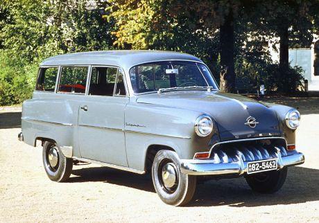 150 Jahre Opel: Opel Olympia Rekord, 1953 - 1954. Foto: Auto-Medienportal.Net/Opel