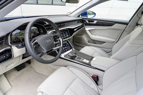 Wie bei der Limousine stellt Audi auch beim Avant vier Ausstattungslinien sport, design, design selection und das S-line-Sportpaket zur Wahl. Foto: Auto-Medienportal.Net/Audi