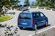 Der Opel Combo Life macht auch von hinten eine gute Figur. Foto: Opel