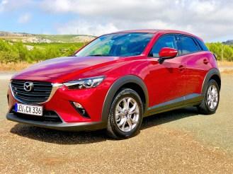 Der Mazda CX3 besitzt ein ausgesprochen kultiviertes und ausgewogenes Fahrverhalten. Foto: Klaus H. Frank