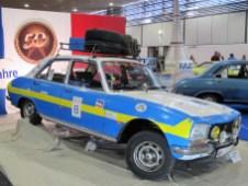 """Für """"50 Jahre Peugeot-Motorsport"""" stand dieser 504 TI von 1971."""