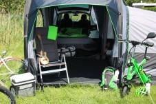 Das Zelt lässt sich an verschiedenen Skoda-Modellen anknüpfen. © Skoda