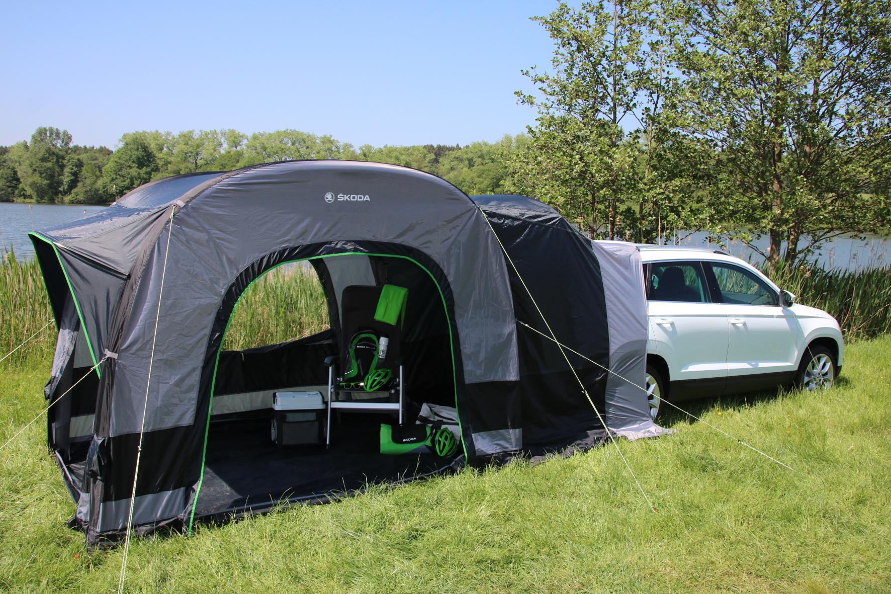 campingzelt von skoda f r outdoor fans die testfahrer. Black Bedroom Furniture Sets. Home Design Ideas