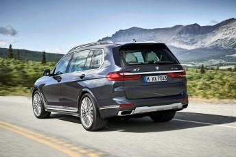 Der X7 ist das größte BMW X Modell mit einer Außenlänge von 5 151 Millimetern, einer Breite von 2 000 Millimetern, einer Höhe von 1 805 Millimetern und einem Radstand von 3 105 Millimetern. Foto: BMW