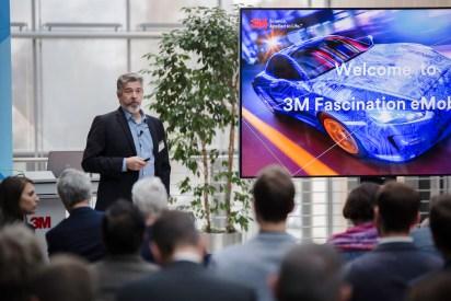 """Der Multitechnologiekonzern 3M fährt beim Thema """"Elektromobilität"""" vorneweg. © 3M"""