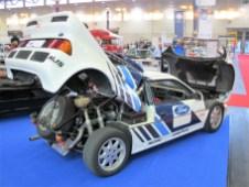 Seltener Allrad-Bolide mit Mittelmotor: Ford RS 200 von 1985