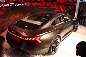 Das Coupé E-Tron GT von Audi ergänzt ab 2020 das elektrische SUV. © Marcus Efler / mid