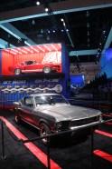 """Hingucker auf dem Ford-Stand: Der originale 1968er Ford Mustang aus dem Film-Klassiker """"Bullit"""". © Marcus Efler / mid"""