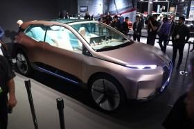Autonom und elektrisch: Das Concept-Car BMW iNext. © Marcus Efler / mid