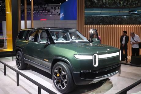 Der voll elektrische SUV des Start-Ups Rivian soll 2020 serienreif sein. © Marcus Efler / mid
