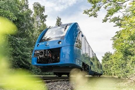 Brennstoffzellen-Zug Alstom Coradia i-Lint. Foto: Auto-Medienportal.Net/Alstom