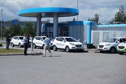 Unter der Bezeichnung ix35 Fuel Cell befand sich dieser Pkw fast fünf Jahre lang im offiziellen Vertriebsprogramm von Hyundai Deutschland. Foto: Peter Schwerdtmann