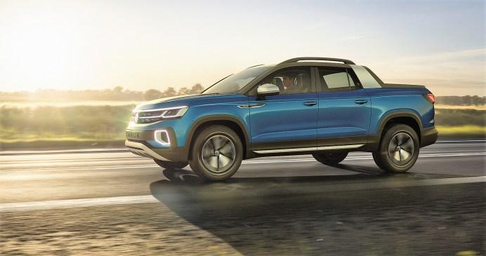 Angetrieben wird der Tarok Concept von einem 110 kW / 150 PS starken Vierzylinder-TSI-Motor mit 1,4 Litern Hubraum, der in Brasilien als TotalFlex-Fuel-Aggregat sowohl mit reinem Ethanol (E100) als auch einem Benzin-Ethanol-Gemisch (E22) gefahren werden kann. Foto: Volkswagen