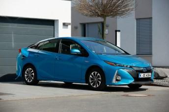 Der Toyota Prius Plug-in-Hybrid schneidet bei einem Verbrauchs-Vergleichstest am besten ab. © Toyota