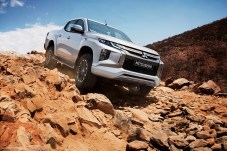 Über Stock und Stein: Mitsubishi schickt jetzt die nächste Generation seines Pick-ups L200 Triton an den Start. © Mitsubishi