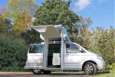 Noch handelt es sich bei dem Queensize Camper auf Basis des Multvan noch um einen Prototyp. Foto: Auto-Medienportal.Net/Queensize Camper