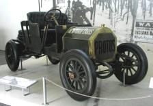 Dieser MHV Protos belegte 1908 den zweiten Platz beim Rennen rund um die Welt. Foto: Auto-Medienportal.Net/Deutsches Museum