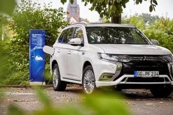 Der beliebteste Plug-in-Hybrid bei den SUV: Mitsubishi Outlander PHEV. Foto: Mitsubishi