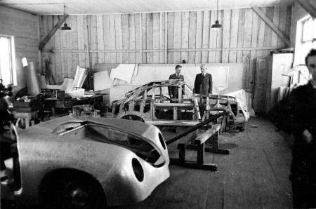 Fertigung der ersten 356-Modelle in Gmünd. Foto: Auto-Medienportal.Net/Porsche