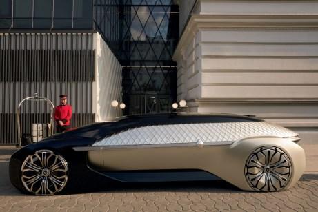 Kühner Ausblick: Die Renault-Studie EZ-ULTIMO weist in die nicht allzu ferne Zukunft des Fahrens. © Renault