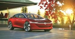 E-Mobilität im Avantgarde-Design: der ID. VIZZION. © Volkswagen