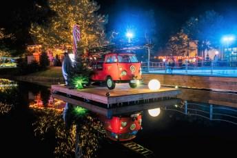 Die Besucher können in dem automobilen Themenpark direkt am Mittellandkanal eine stimmungsvolle Weihnachtszeit erleben, Fotos: Anja Weber