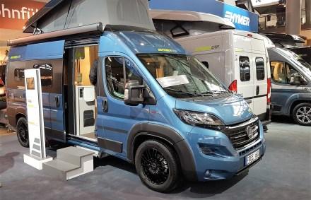 Bei 70 000 Euro beginnt die Preisliste der neuen Modelle 550 und 600, die das Angebot der Baureihe B Modern Comfort um zwei Aufbaulängen erweitern. Hier der Hymer Car Free 600. Foto: Auto-Medienportal.Net/Michael Kirchberger