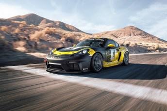 Gebaut für die Rennstrecke: der Porsche Cayman GT4 Clubsport. © Porsche