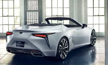 Die Studie des LC Cabrios soll eine Inspiration für die komplette Lexus-Modellpalette sein. © Lexus