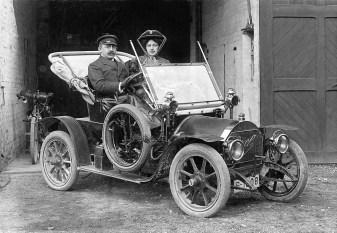 Aus dem Archiv: der Opel Doktorwagen 12 PS (1909). Foto: Auto-Medienportal.Net/Opel