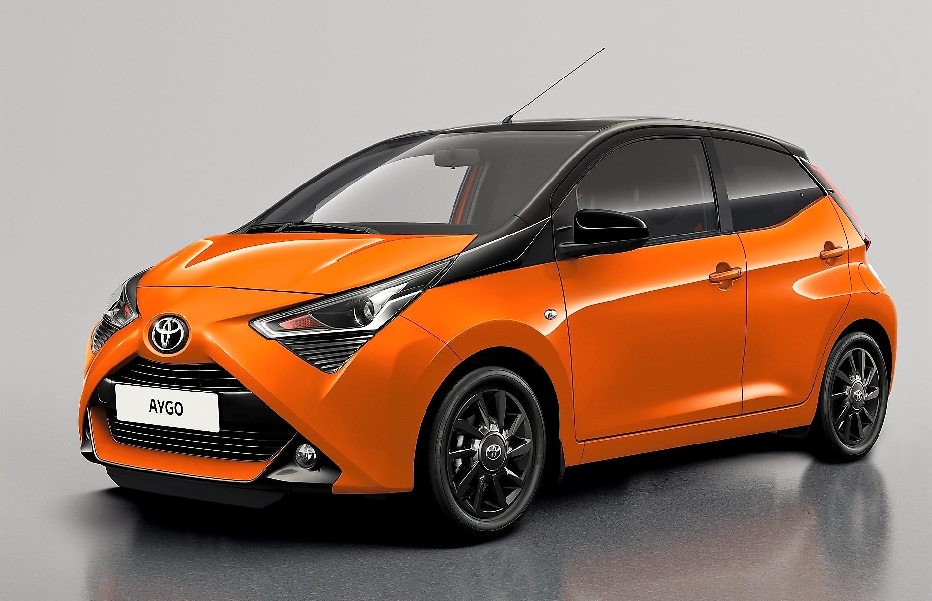 """Toyota Of Manhattan >> Toyota Aygo in der Farbe """"Mandarine"""" lackiert – Die ..."""