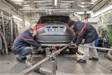 Abgasmessung bei Daimler. Foto: Auto-Medienportal.Net/Daimler
