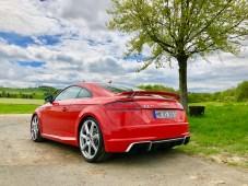 Der TT RS ist regelrecht geil auf Kurven. © Klaus H. Frank