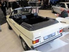 Ohne Bügel macht das Golf Cabrio als Prototyp eine gute Figur.